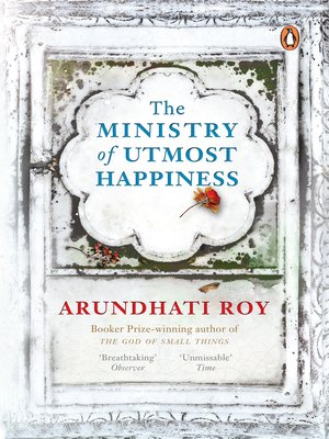 cover image of The Ministry of Utmost Happiness