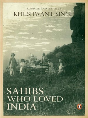 cover image of Sahibs Who Loved India