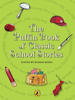 cover image of The Puffin Book of School Stories