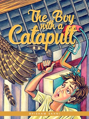 cover image of The Boy with a Catapult