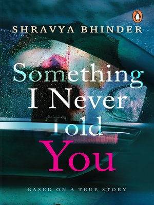 cover image of Something I Never Told You