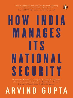 cover image of How India Manages Its National Security
