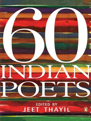 cover image of 60 Indian Poets