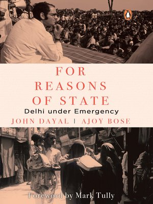 cover image of For Reasons of State