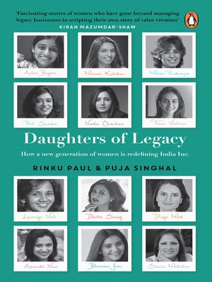 cover image of Daughters of Legacy