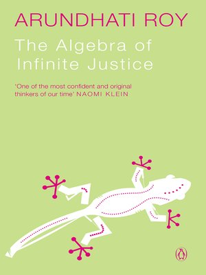 cover image of The Algebra of Infinite Justice