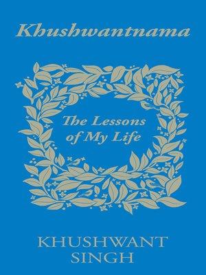 cover image of Khushwantnama
