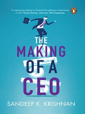 cover image of Making of a CEO