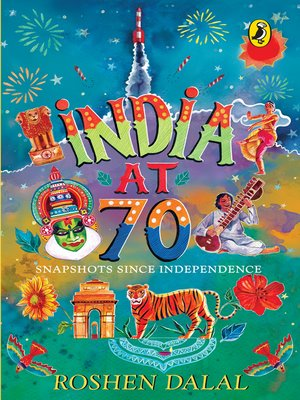 cover image of India at 70