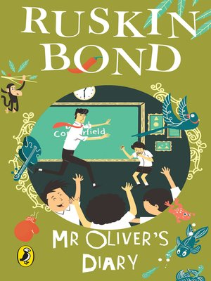cover image of Mr Oliver's Diary