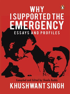 cover image of Why I Supported the Emergency