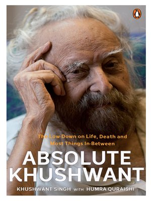 cover image of Absolute Khushwant