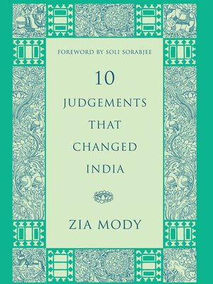cover image of 10 Judgements That Changed India