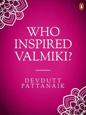 cover image of Who Inspired Valmiki?