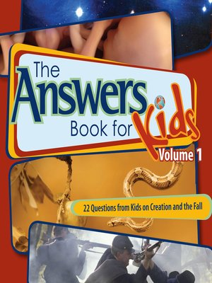 cover image of Answers Book for Kids, Volume 1