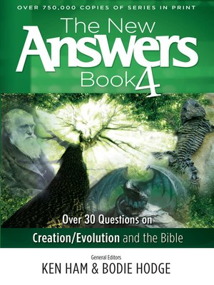 cover image of The New Answers Book
