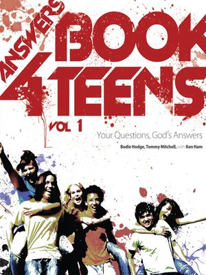 cover image of Answers Book for Teens