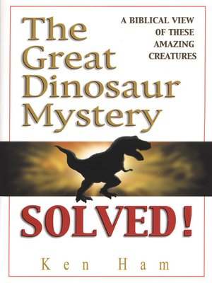 cover image of The Great Dinosaur Mystery Solved