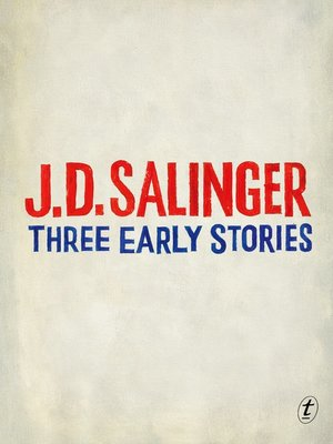 cover image of Three Early Stories