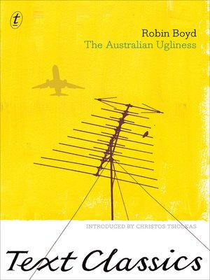 cover image of The Australian Ugliness