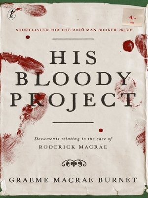cover image of His Bloody Project