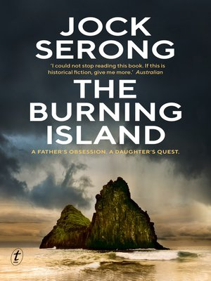 cover image of The Burning Island