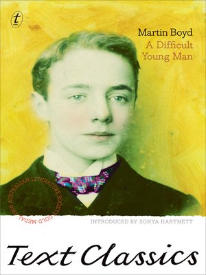 cover image of A Difficult Young Man