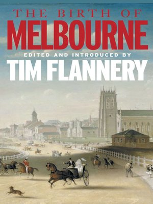 cover image of The Birth of Melbourne