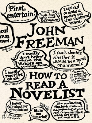 cover image of How to Read a Novelist
