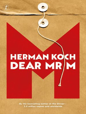 cover image of Dear Mr M