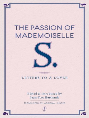 cover image of The Passion of Mademoiselle S.