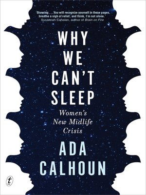 cover image of Why We Can't Sleep