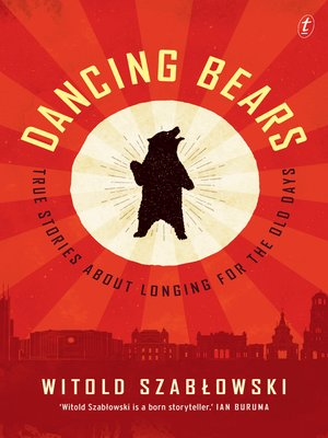 cover image of Dancing Bears