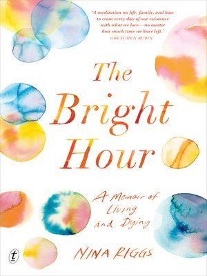 cover image of The Bright Hour