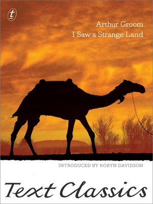 cover image of I Saw a Strange Land
