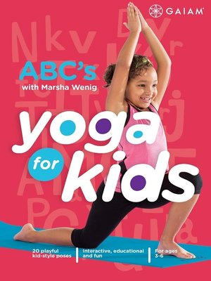 cover image of Yoga for Kids: ABC's with Marsha Wenig