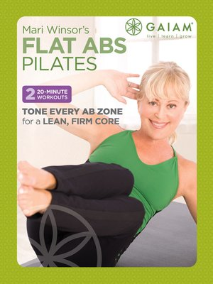 cover image of Mari Winsor's Flat Abs Pilates