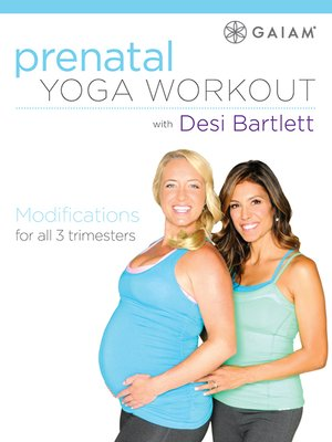 cover image of Prenatal Yoga Workout with Desi Bartlett, Episode 1