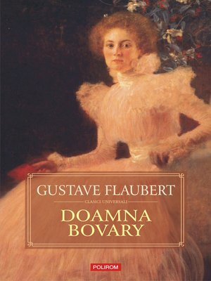 cover image of Doamna Bovary