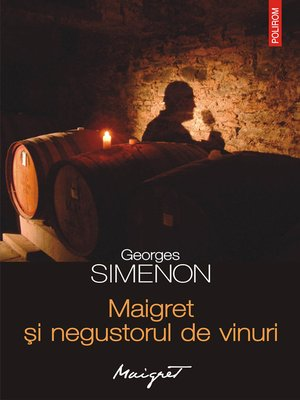 cover image of Maigret și negustorul de vinuri