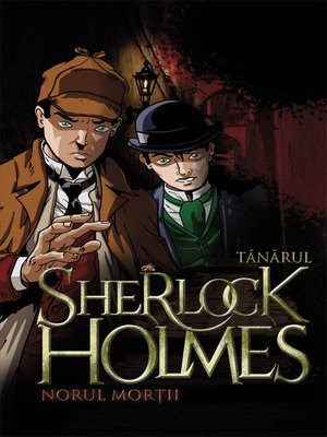 cover image of Tânărul Sherlock Holmes. Norul morții