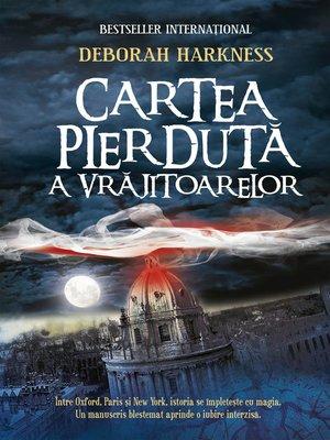 cover image of Cartea pierdută a vrăjitoarelor