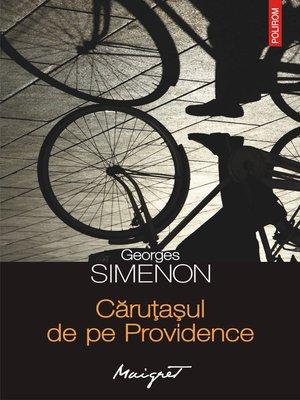 cover image of Căruțașul de pe Providence
