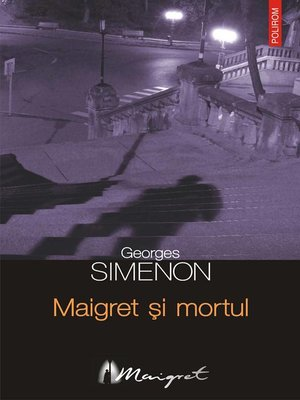 cover image of Maigret și mortul