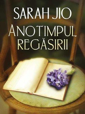 cover image of Anotimpul regăsirii