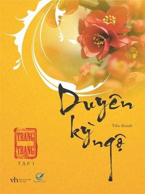 cover image of Truyen ngon tinh--Duyen ky ngo