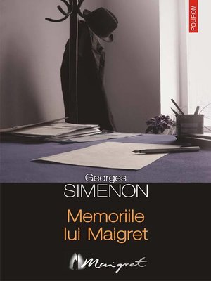 cover image of Memoriile lui Maigret