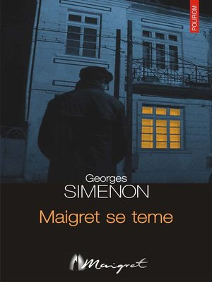 cover image of Maigret se teme