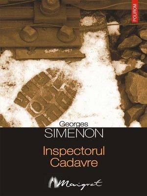 cover image of Inspectorul Cadavre