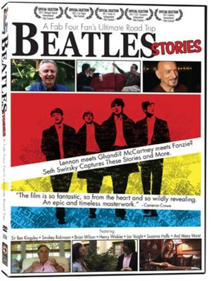 cover image of Beatles Stories